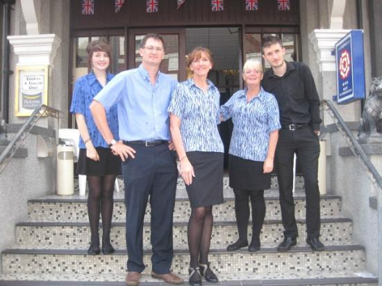 Adelaide House Hotel: some of our team!