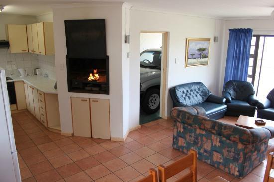 Villa Chante: Build in fire place