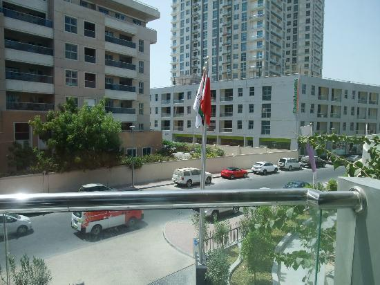 "Lotus Hotel Apartments & Spa, Dubai Marina: This is the ""Marina View""?"