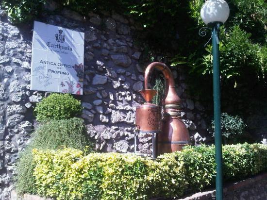 Melia Villa Capri Hotel & Spa: perfume maker