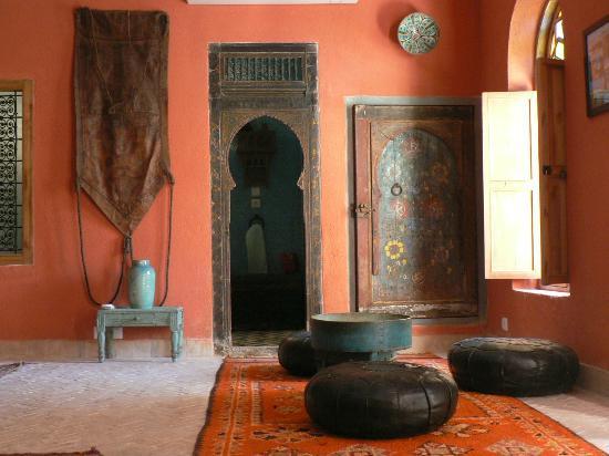 Riad Lune et Soleil: Chambre orange 1