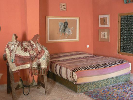 Riad Lune et Soleil: Chambre orange 2 