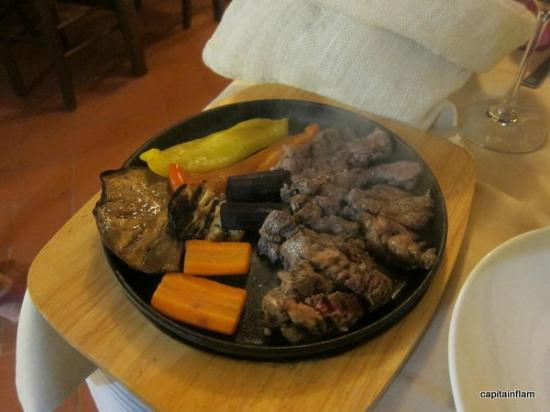 Osteria la Botte Vagliagli: The grill vegetables and meat