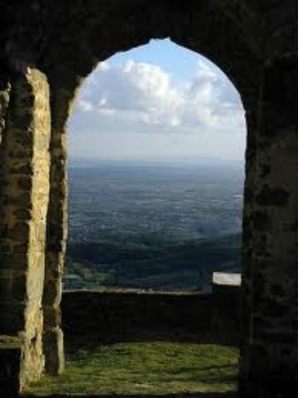 Hotel Zenith : Windows on Montecatini Terme