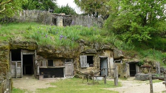 Azay-le-Rideau, Frankreich: Ferme Troglodytique