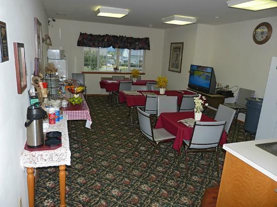 Anaco Bay Inn: zona comedor desyunos