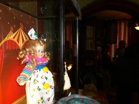 The haunted clown doll on display - Picture of International Museum