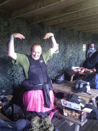 Delta Force Paintball Edinburgh: Don't mess with this fairy, he has a paintball gun