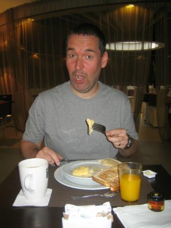 Barcelo Costa Vasca: Bespoke omlette for breakfast