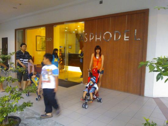 Asphodel Inn Singapore : The Front of Asphodel Inn