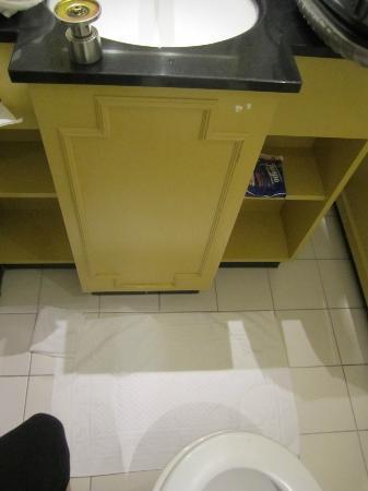 Hampshire Hotel - Amsterdam American: von der toilette aus konnte man sich gleichzeitig die hände waschen....türgriff siehe foto