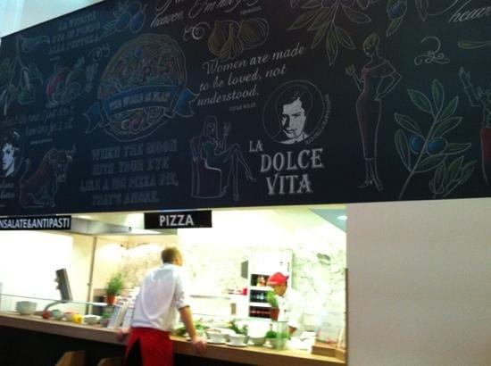 Photo of Italian Restaurant Vapiano at Amstelstraat 2-4, Amsterdam 1017 DA, Netherlands