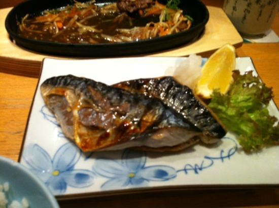 Iwase: Fish Grilled with Salt. A +