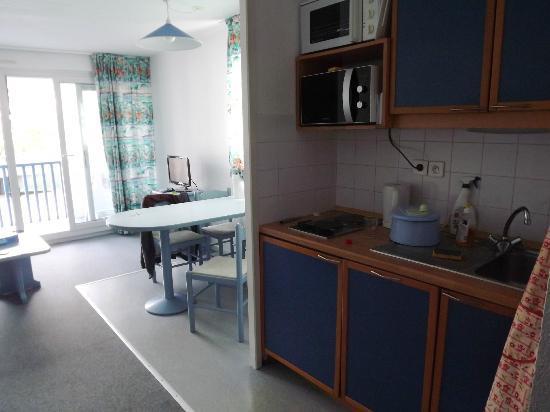 Residence Mer & Golf Fort Socoa : Salle à manger / cuisine