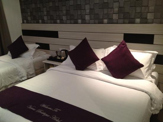 Venus Boutique Hotel: 21-23 Sep 12 room 206