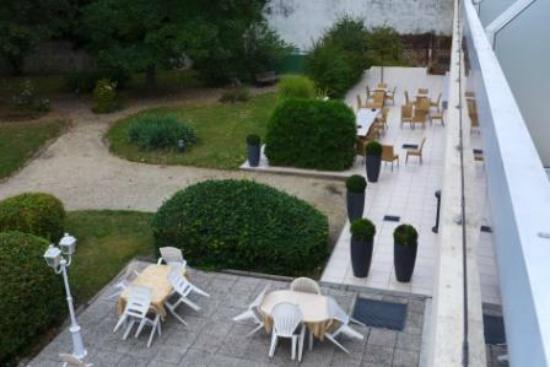 BEST WESTERN Hôtel du Parc : vue de la chambre