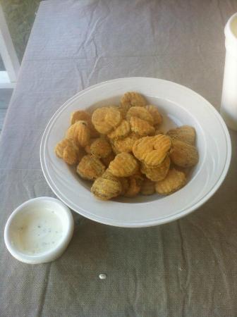 Restaurant at K Corner: Moonshine Fried Pickles