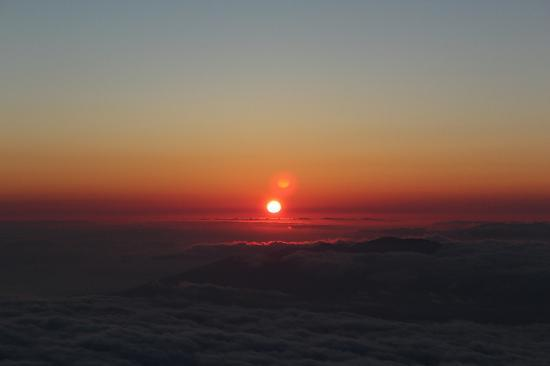 Hyatt Regency Maui Resort and Spa: On top of Haleakala (sunset)
