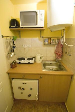 Bell Hostel & Apartments: Charming apartment-  small kitchen