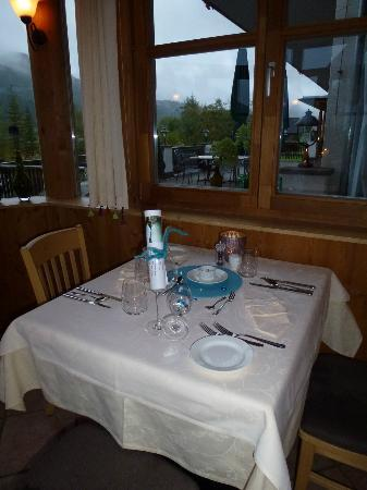 Genießerhotel Die Forelle: Dining area