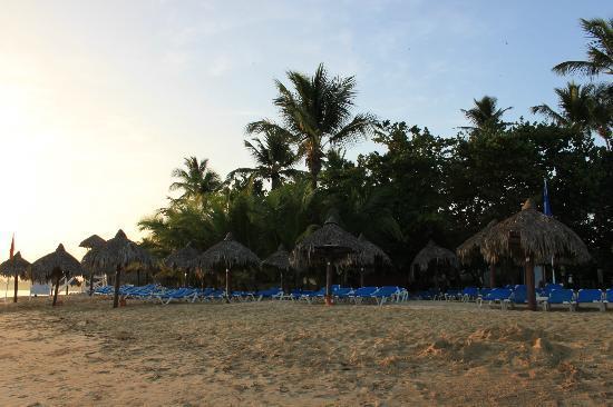 Grand Bahia Principe El Portillo: Strandabschnitt