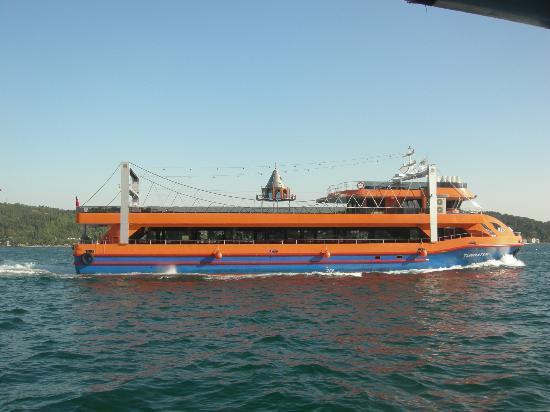 Bosphorus Cruise Day Trips: Ship