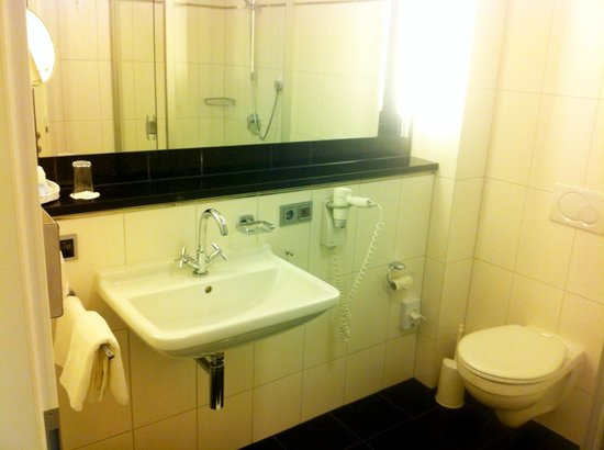 Ringhotel Stadt Coburg: Blick in das Bad/WC