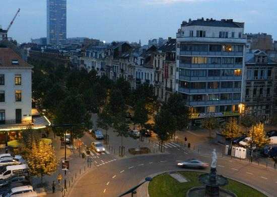 Hotel a la Grande Cloche: Our view.