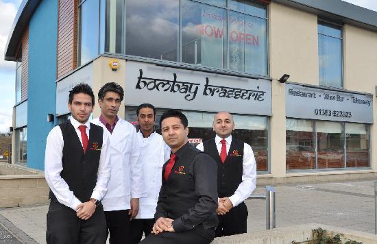 Bombay Brasserie: The Team