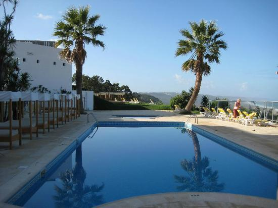 Miramar Hotel & SPA: Pool from Restaurant