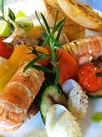 Hotel Fontana Twann  Fischrestaurant und Brasserie : Fischspezialitäten