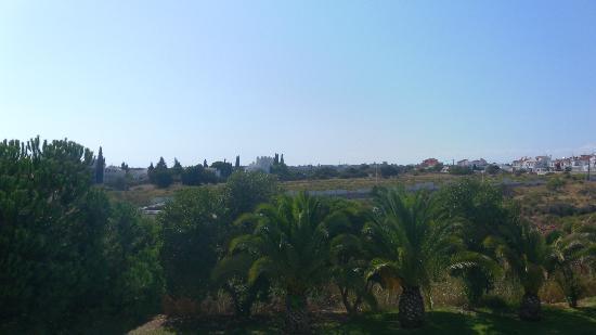 Be Smart Terrace Algarve: View from balcony (appt block 7 room 723)