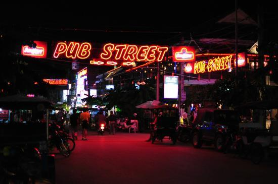 Borei Angkor Resort & Spa: Pub Street