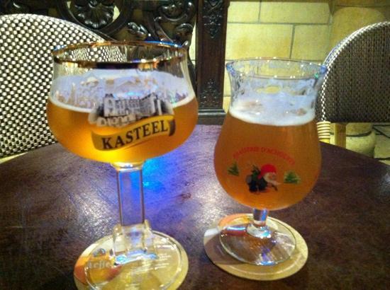 La Taverne flamande: Beer was good!!!