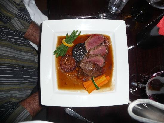 The Russell Hotel: Venison Entree