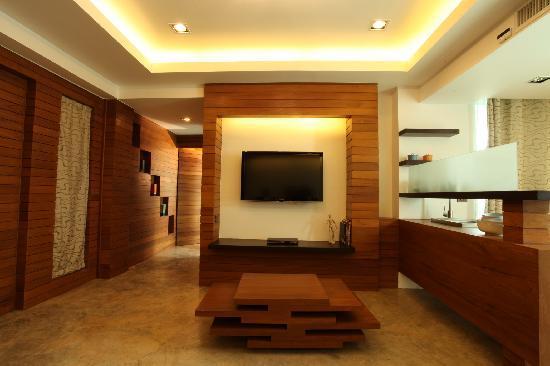 Baan Nueng Aree 5 : Baannueng  Hi Suite - Living Room