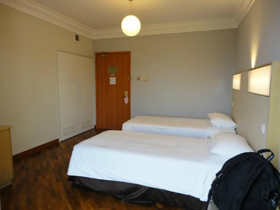 YWCA Fort Canning Lodge: Two beds