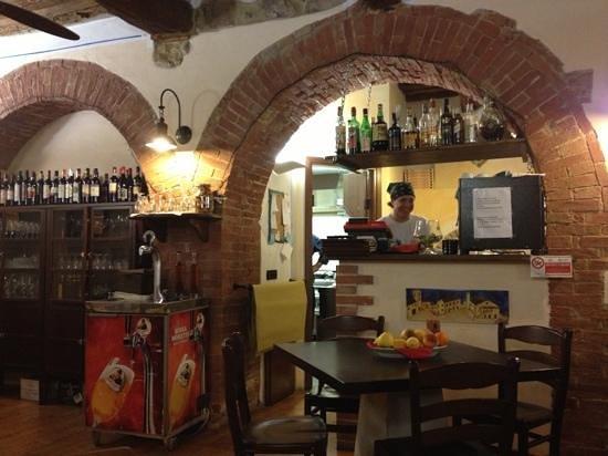 Montepescali, Italien: sala principale