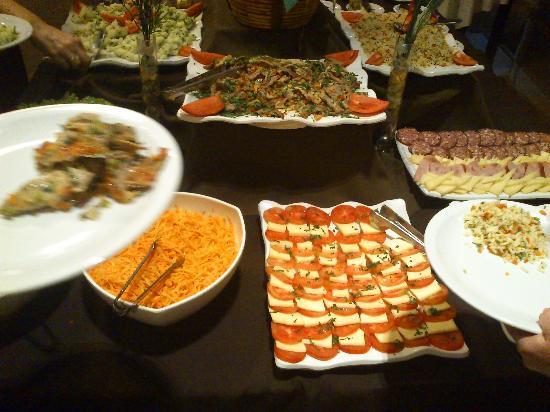 Gran Hotel Tourbillon : Ejemplo de mesa fría - cena