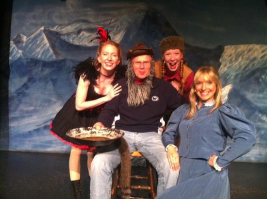 Music of Denali Dinner Theater : My husband, the actor.