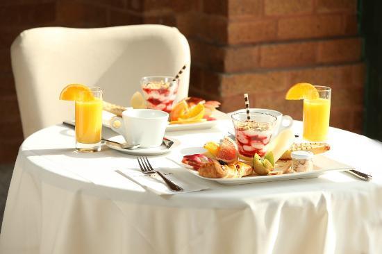 Hotel du Capitole: Petit-déjeuner au Il Teatro