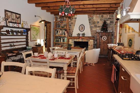cucina - Foto di B&B La Casa di Campagna, Bergamo - TripAdvisor