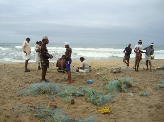 Sanctum Spring Beach Resort: fishermen