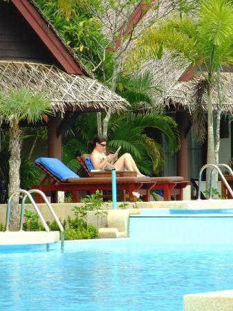The Kib Resort & Spa: Pool terrace