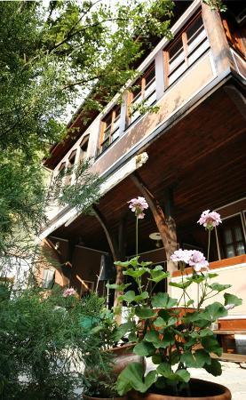 Hebros Hotel: Garden