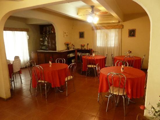 Hosteria Casa Blanca Iguazu : Desayunador