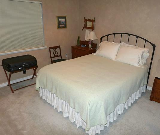 Oceanview Bed and Breakfast : Sage room