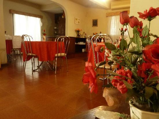 Hosteria Casa Blanca Iguazu: Desayunador
