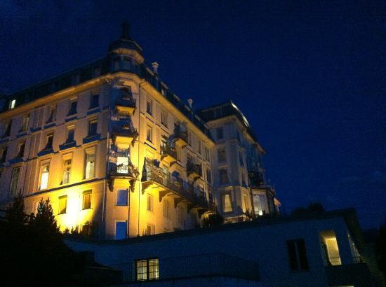 Grand Hotel Kronenhof: Hôtel la nuit