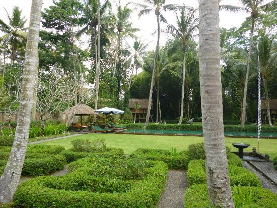 Puri Tupai: view of the garden